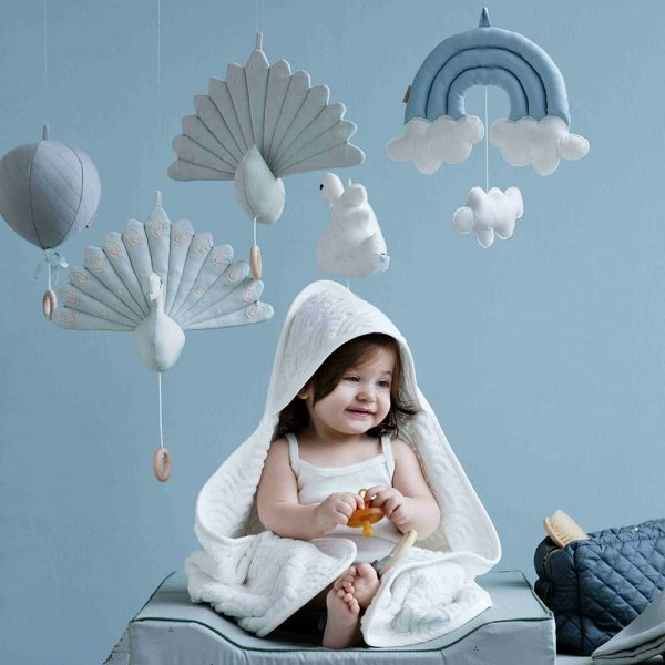 mobile bébé BIO pastel camcam