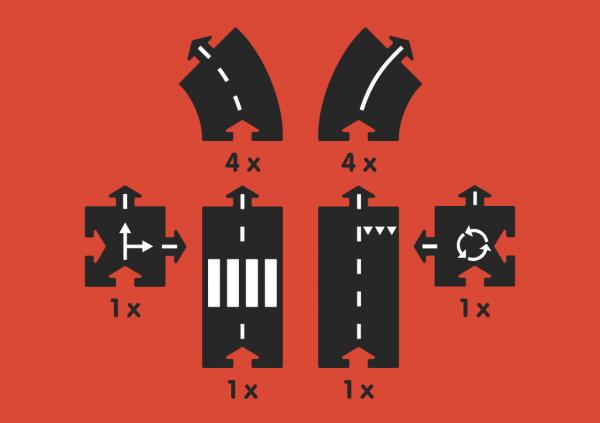 circuit voitures flexible waytoplay