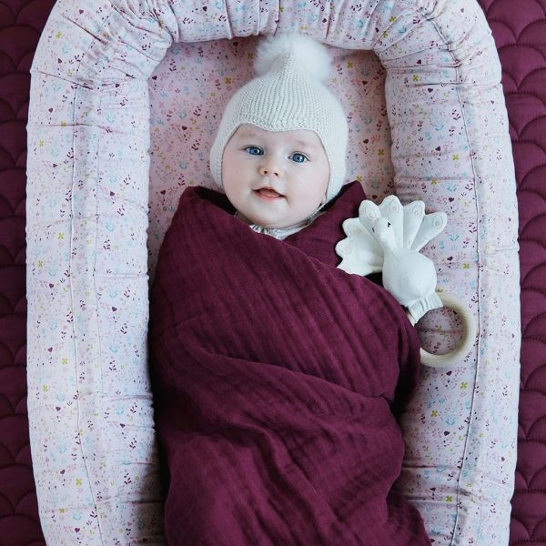lange bébé hochet bio