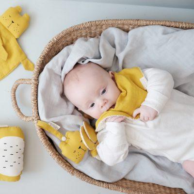 jouets d'éveil bébé BIO fabelab