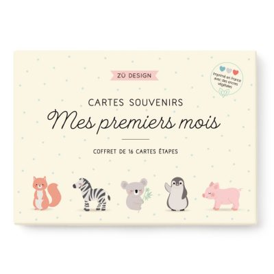cartes étapes bébé made in france