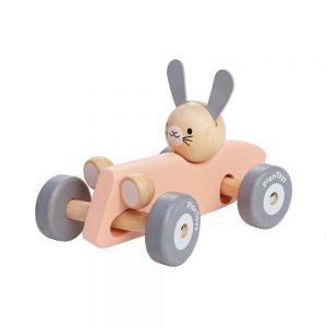 lapin bolide de course plan toys