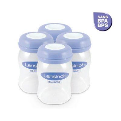 pots conservation lait maternel lansinoh