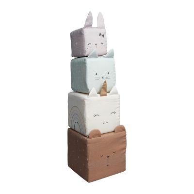 cubes à empiler Montessori BIO