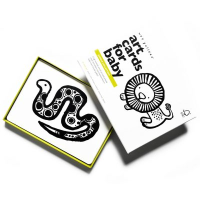 art cards jungle imagier noir et blanc wee gallery