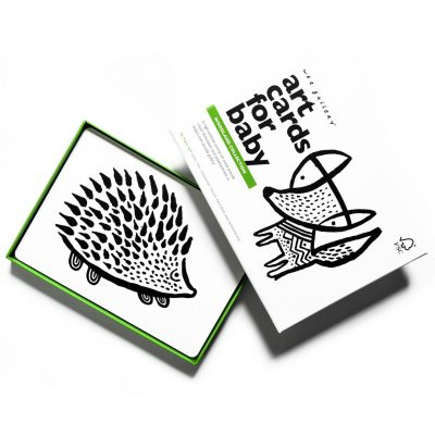 art cards woodlands cartes imagier noir et blanc wee gallery