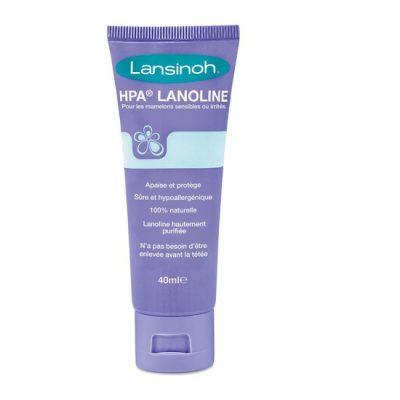 lanoline 100% naturelle BIO mamelons douloureux lansinoh