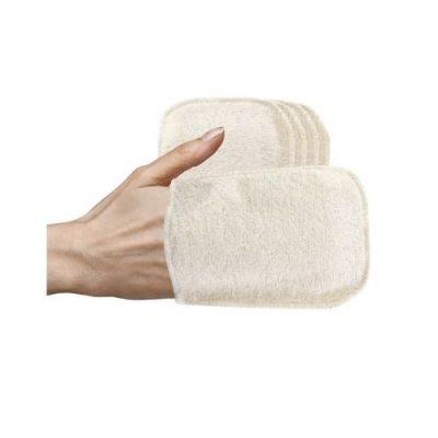gants lavables bébé zéro déchet BIO