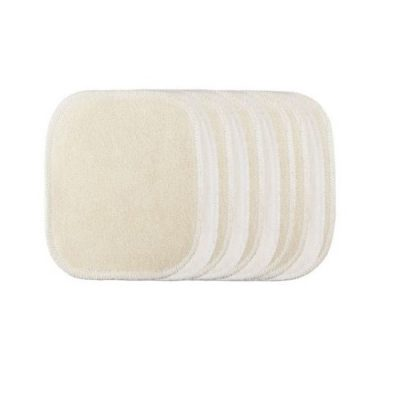zéro déchet lingette bébé carrés lavables