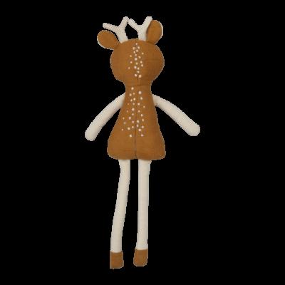 poupée originale tissu bio biche noel fabelab