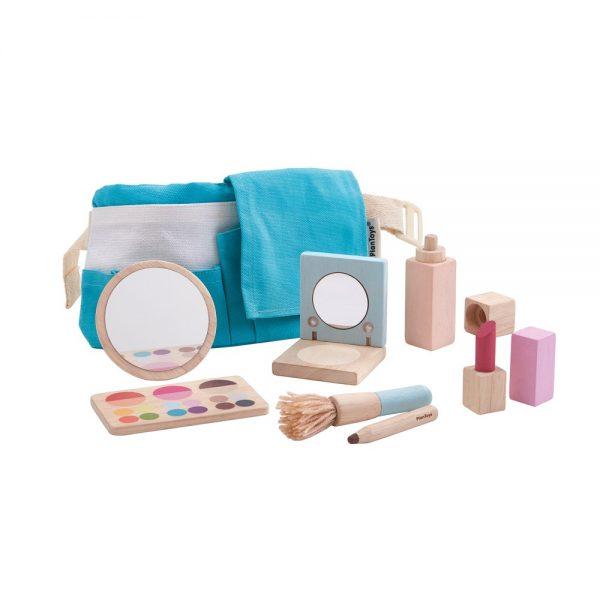 trousse maquillage en bois