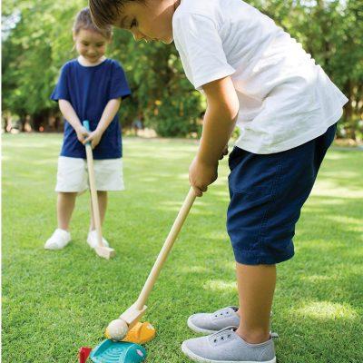 mini golf enfant jeux été