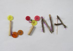activités enfants écriture prénom