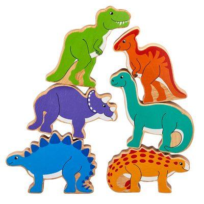 dinosaures en bois figurines lanka kade