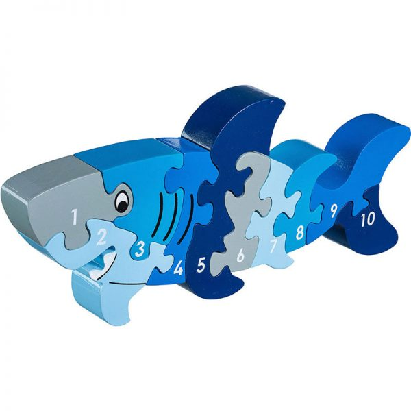 Puzzle enfant en bois requin lanka kade