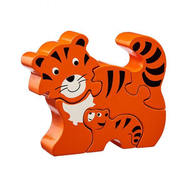 puzzle tigre en bois Lanka kade BIO