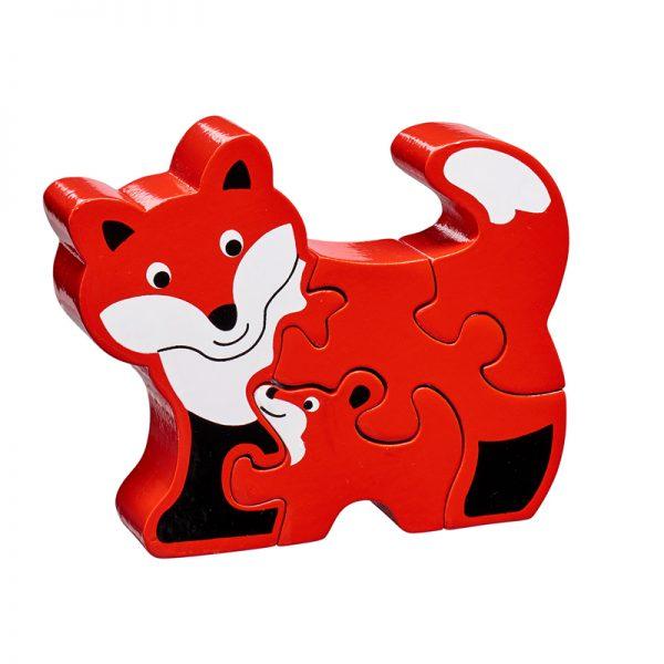 puzzle renard en bois Lanka kade BIO