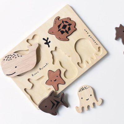 puzzle en bois original