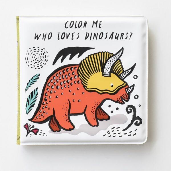 livre coloriage eau color me wee gallery dinosaures