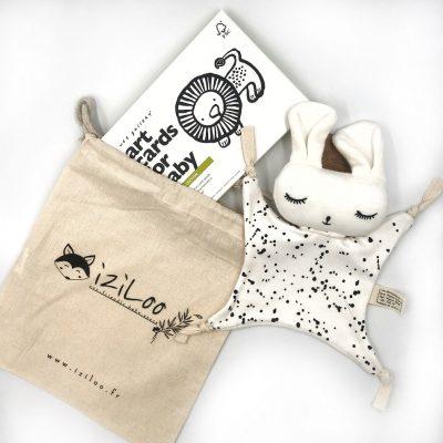 Montessori éveil noir et blanc éveil idées cadeaux bébé