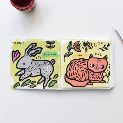 Livre-de-bain-à-colorier-color-me-wee-gallery-pets-jouet-de-bain