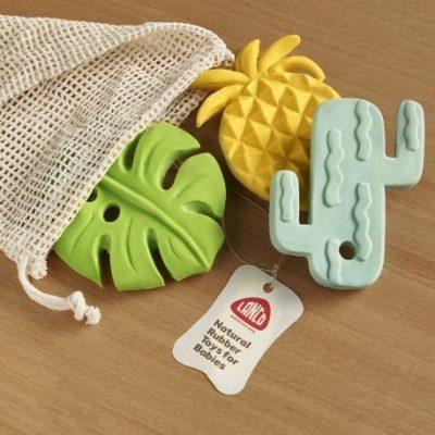 Set-semilla-jouet-dentition-non-toxique-caoutchouc-naturel