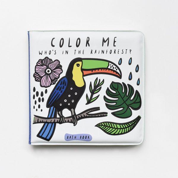 livre de bain magique color-me-wee-gallery-rainforest-forêt-tropicale
