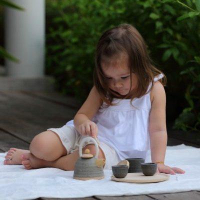 service à thé exotique plan toys