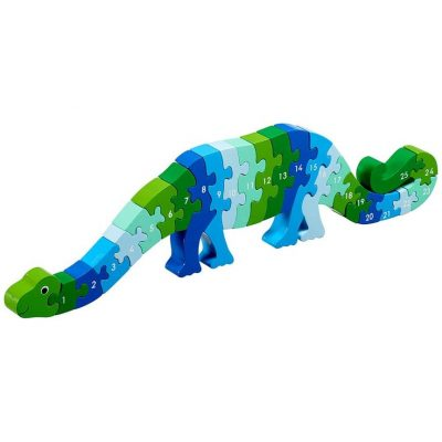 Puzzle Dinosaure Chiffres 1 - 25 lanka kade