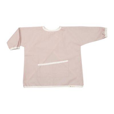 tablier peinture écolier coton BIO rose fabelab