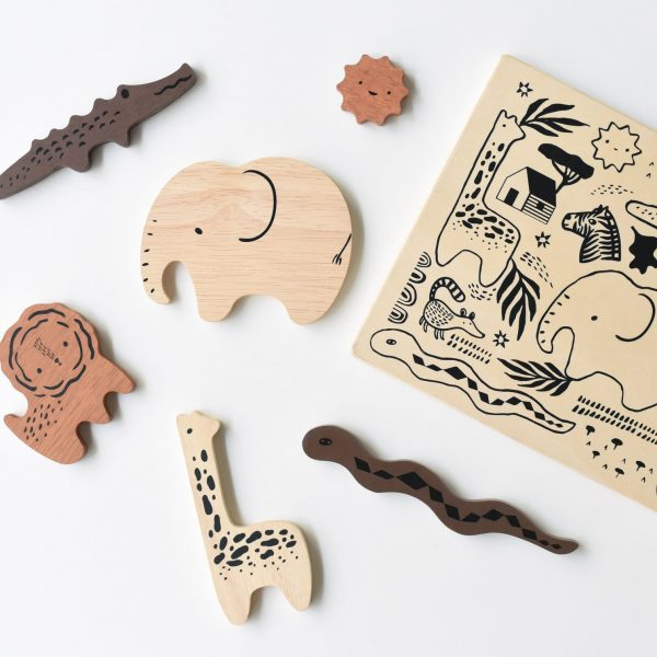 Puzzle à encastrer wee gallery Safari