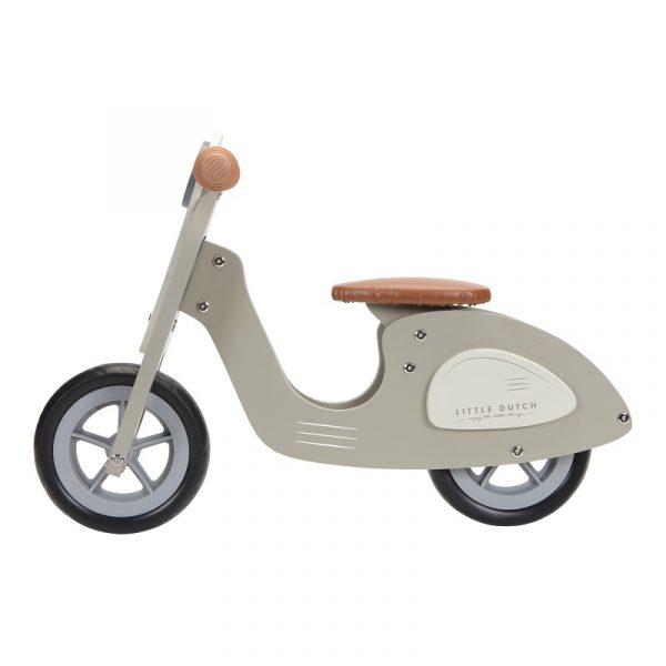 draisienne en bois scooter little dutch vert olive iziloo