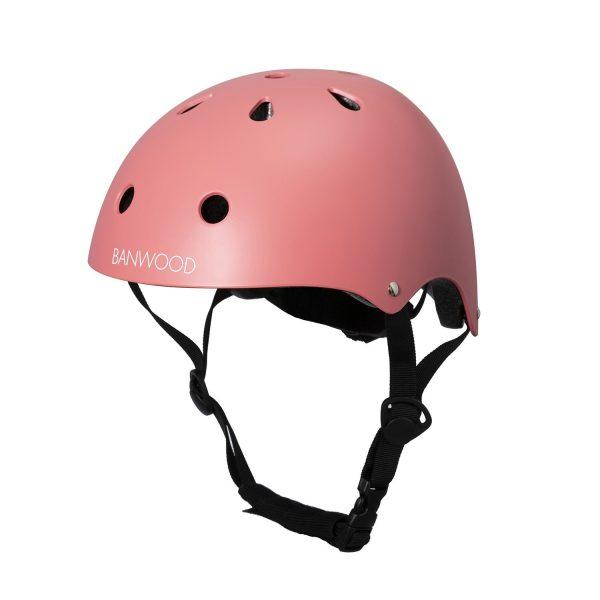 casque vélo enfant haut de gamme banwood rose
