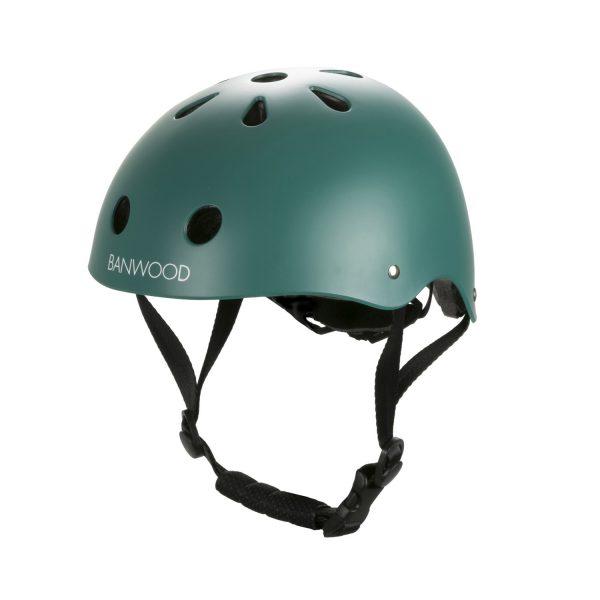 casque vélo enfant haut de gamme banwood vert