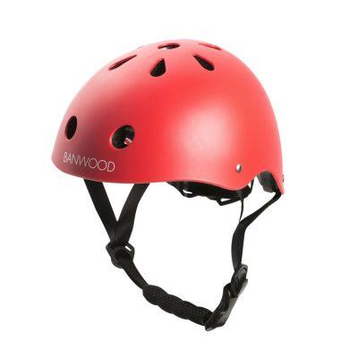 casque vélo haut de gamme banwood rouge