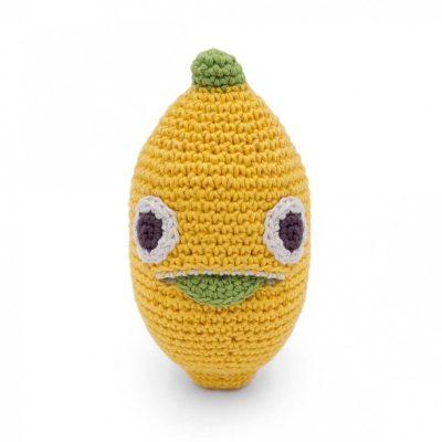 hochet citron crochet BIO fruits crocher Myum
