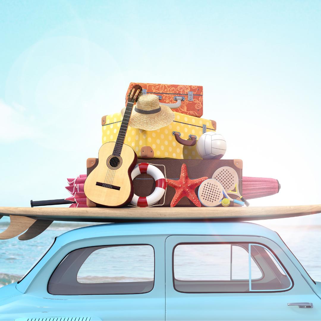 valise bébé vacances